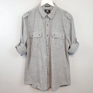 Rock & Republic Dolman Sleeve Button Down Shirt
